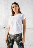 Bat T-shirt Karbon White - OTDC-01 - packshot