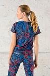 Bat T-shirt Mosaic Glow - OTD-12M3