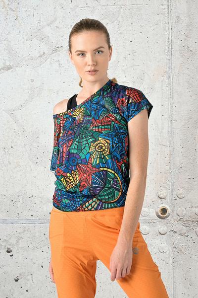 Bat T-shirt Mosaic Lumo - OTD-12M4