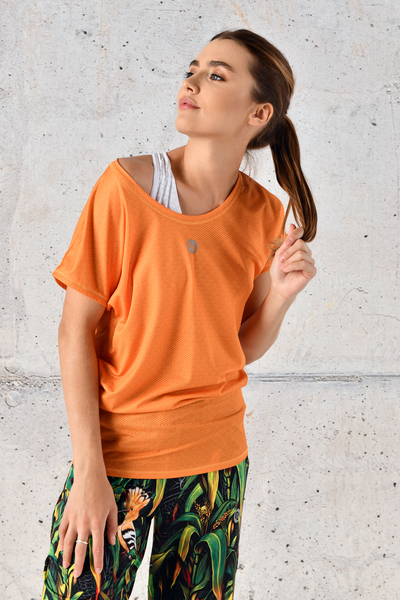 Bat T-shirt Orange Mirage - OTD-11X3