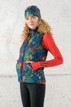Ladies' sleeveless jacket Mosaic Lumo - HBD-12M4
