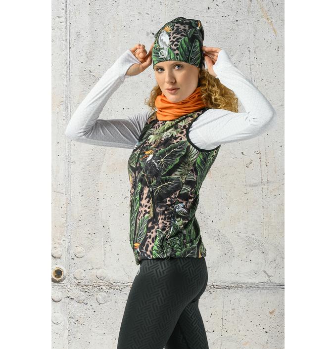 Ladies' sleeveless jacket Selva Sand Limited - HBD-11T1 - packshot