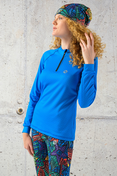 Training sweatshirt Blue Mirage - KBL-11X7