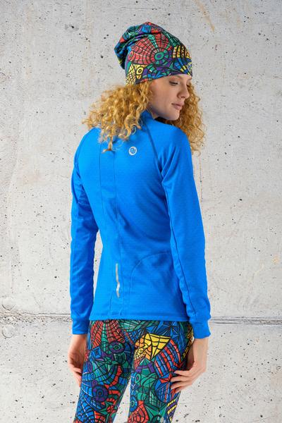 Training sweatshirt Blue Mirage - KBL-11X7