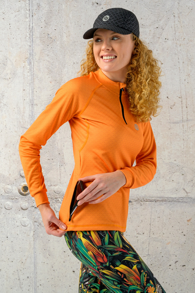 Training sweatshirt Orange Mirage - KBL-11X3