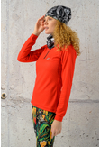 Training sweatshirt Red Mirage - KBL-11X4 - packshot