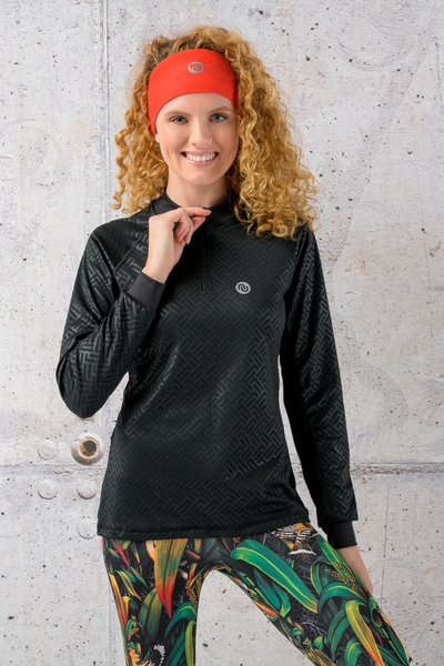 Training sweatshirt Shiny 2 Black - KBL-90T