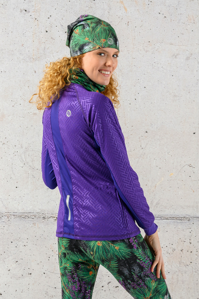 Training sweatshirt - Shiny 2 Purple KBL-1260T