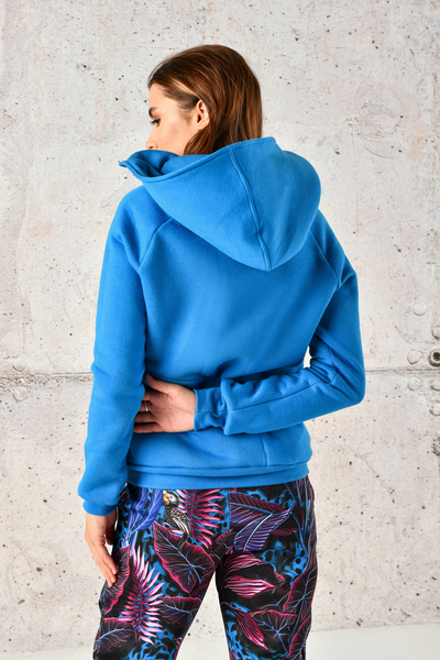 Sweatshirt With Hood Kayo Blue - OKYD-50