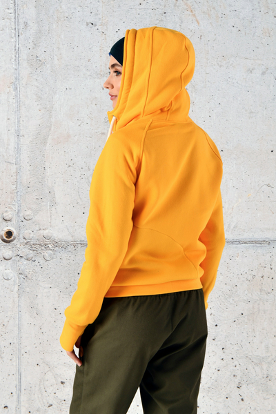 Sweatshirt With Hood Bioko Yellow - ORBD-10