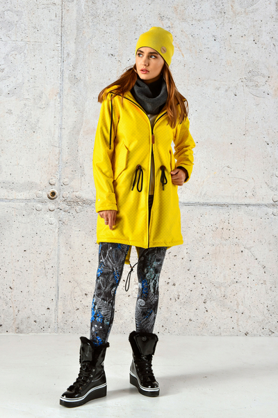 Hooded Parka Jacket Yellow Mirage - PRSL-11X1