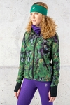 Ladies zipped hoodie Pine - HRDK-12L1