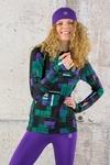 Training sweatshirt Zip Krado Purple - LBKZ-12S6