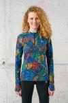 Training sweatshirt Zip Mosaic Lumo - LBKZ-12M4