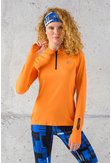 Training sweatshirt Zip range Mirage - LBKZ-11X3 - packshot