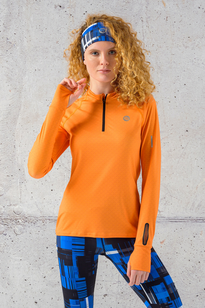 Training sweatshirt Zip range Mirage - LBKZ-11X3