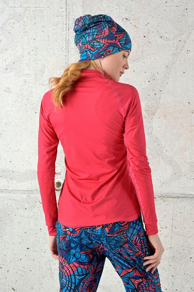 Training sweatshirt Zip Pink Mirage - FLBKZ-11X2
