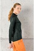 Training sweatshirt Zip Shiny 2 Black - FLBKZ-90T - packshot