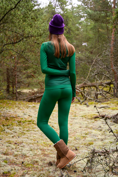 Thermo leggings Woman Green - GDN-40