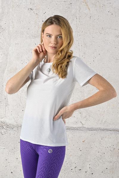 T-shirt Karbon White - TSFC-01