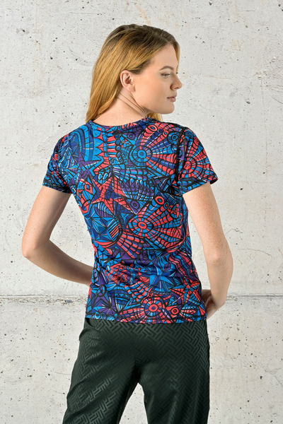 T-shirt Mosaic Glow - TSF-12M3