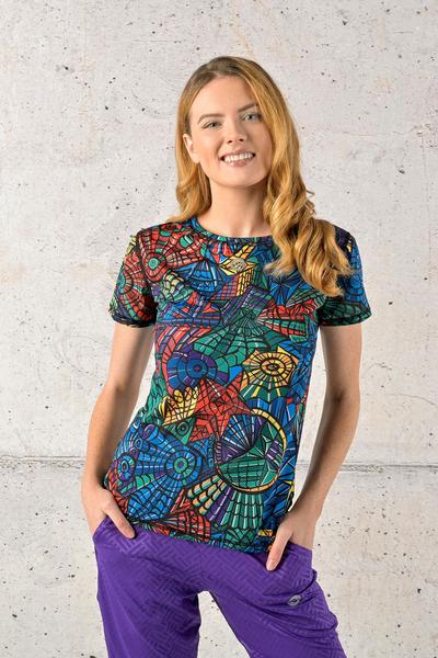 T-shirt Mosaic Lumo - TSF-12M4