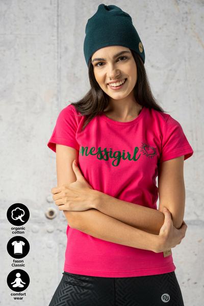 Ecocotton Pink T-shirt - ITC-30NG