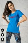 Ecocotton Loose Blue T-shirt - ITB-50NG