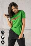 Ecocotton Loose Green T-shirt - ITB-40NG