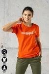 Ecocotton Loose Red T-shirt - ITB-20NG