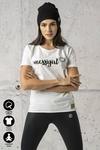 Ecocotton Loose White T-shirt - ITB-00NG