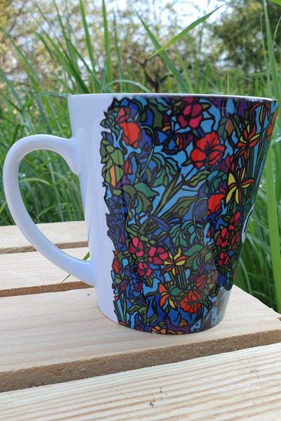 Nessi Mug Mosaic Flora - KU-11M4