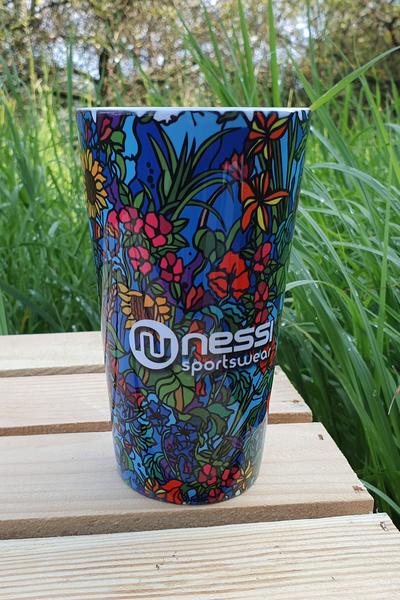 Kubek Nessi Mosaic Flora - KU-11M4 XL