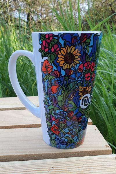 Nessi Mug Mosaic Flora - KU-11M4 XL