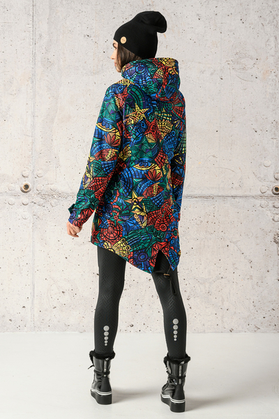 Hooded Parka Jacket Mosaic Lumo Limited - PRSL-12M4