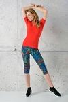 Fitness Leggings 3/4 Mosaic Lumo - OSTF-12M4