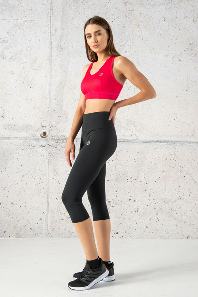 Fitness Leggings 3/4 Total Black - OSTF-90