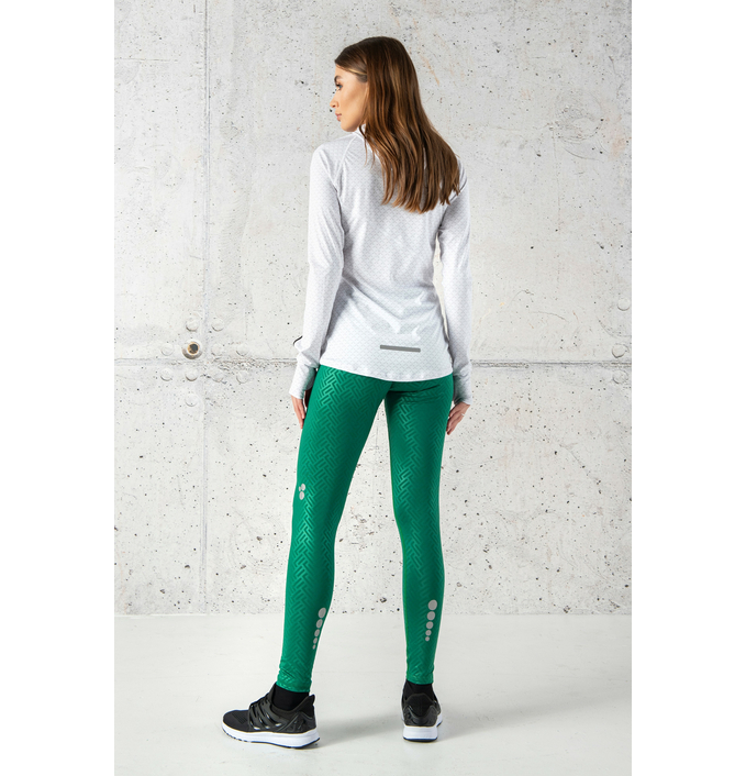 Running Leggings with a belt 4K Ultra HD Shiny 2 Green - OSLP-1250T  - packshot