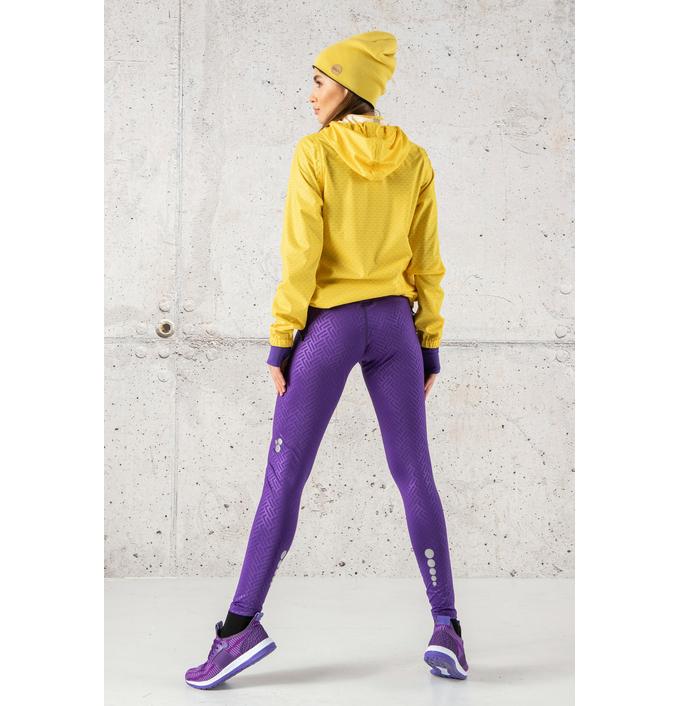 Running Leggings with a belt 4K Ultra HD Shiny 2 Purple - OSLP-1260T - packshot