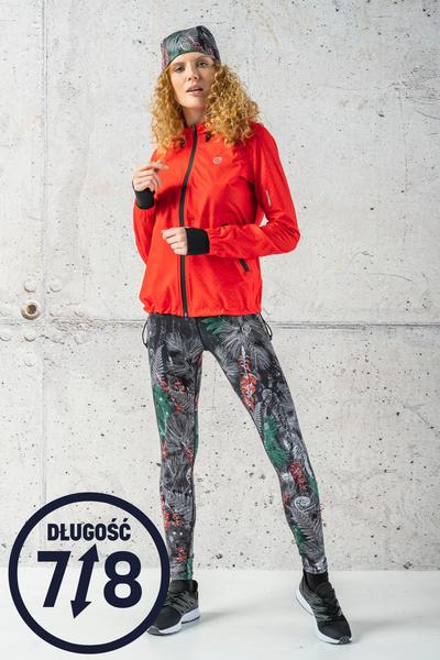 Running Leggings 7/8 Pine Red - OSLZ7-12L2