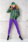 Running Leggings Shiny 2 Purple - OSLZ-1260T - packshot