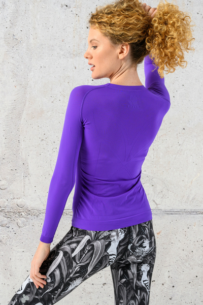 Ultra Light Breathable Longsleeve Purple - BLD-59