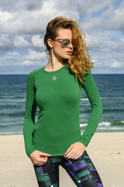 Ultra Light Breathable  Longsleeve Green - BLD-40