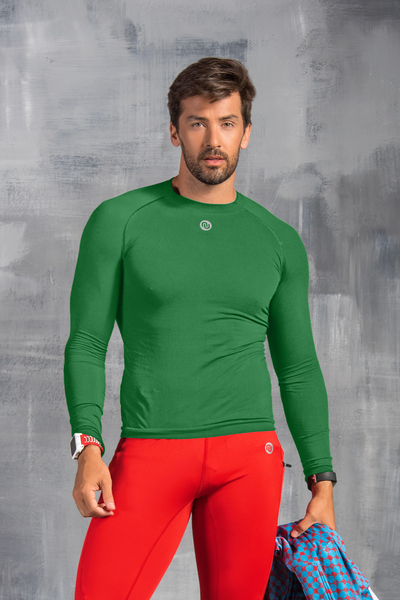 Ultra Light Longsleeve Breathable Green - BLM-40