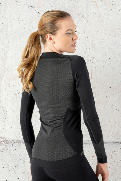 Longsleeve Thermo Woman Black - BDN-90