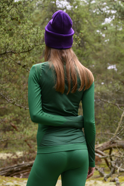 Longsleeve Thermo Woman Green - BDN-40