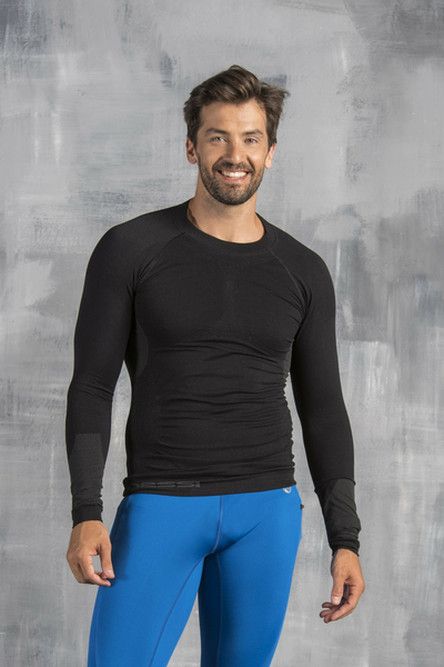 Long sleeve Thermo Men Black - BMN-90