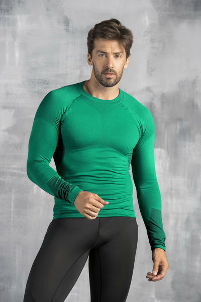 Long sleeve Thermo Men Green - BMN-40