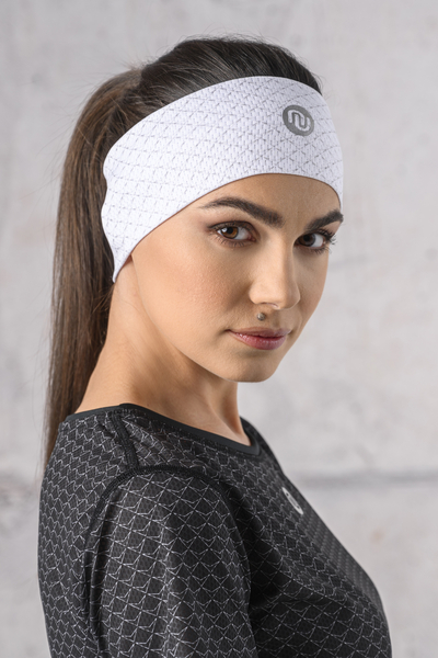 Ultra Headband White Mirage - AOL-11X0