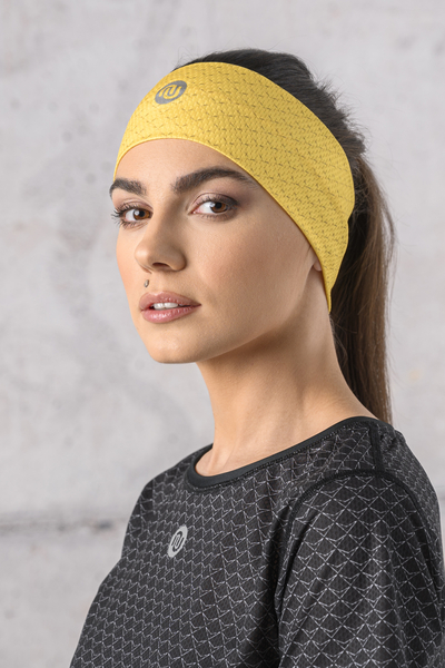 Ultra Headband Yellow Mirage - AOL-11X1